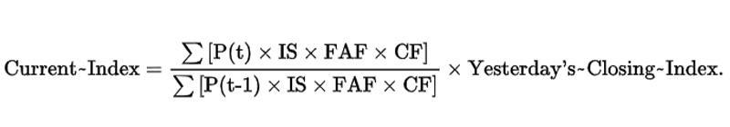 วิธีการคำนวณดัชนีหุ้นฮั่งเส็ง